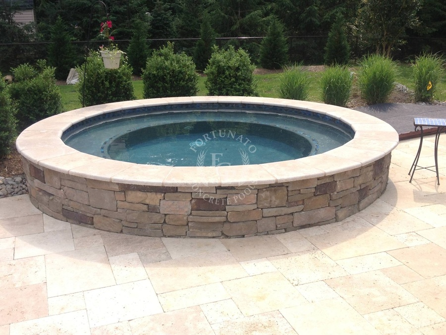 Fortunato - Concrete Pool Design and Construction in NJ (732) 363-3889