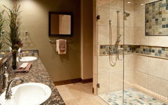Hinged Frameless Shower Doors: Peerless Collection