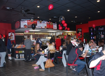 Muscle Maker Grill Grand Opening