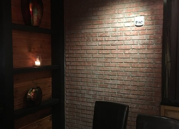 Interior Brickface in Jersey City