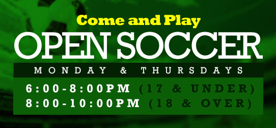 Come Play Open Soccer!