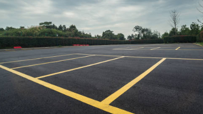 Asphalt Parking Lot Paving