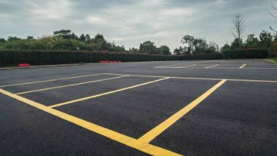 Asphalt Parking Lot Paving