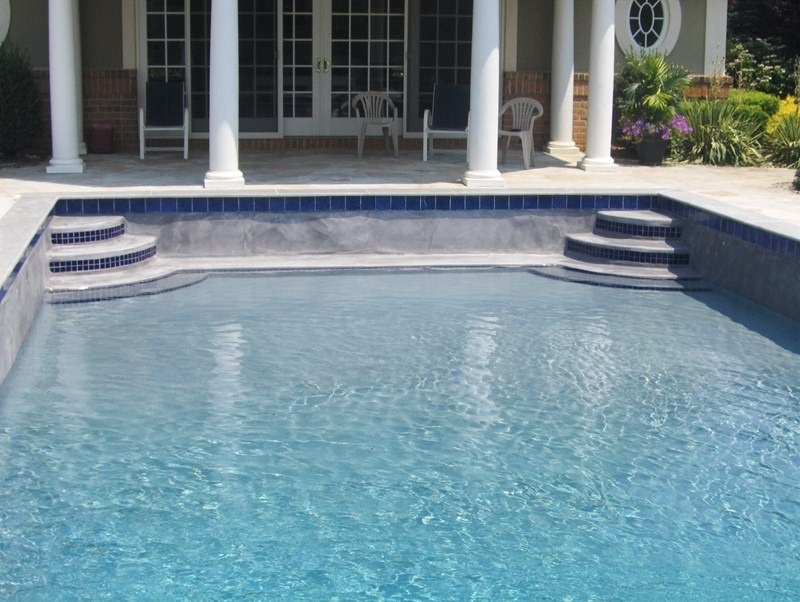Before & After Pool Restoration in Colts Neck, NJ