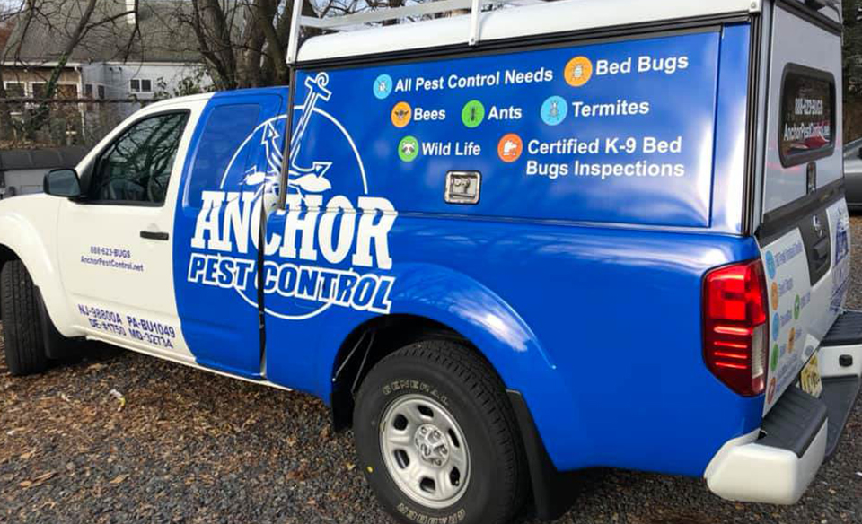Anchor Pest Control Truck